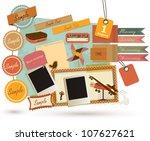 vintage design elements  19  | Shutterstock .eps vector #107627621