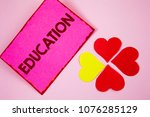 word writing text education....   Shutterstock . vector #1076285129