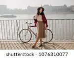 outdoor photo of good looking... | Shutterstock . vector #1076310077