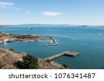 secluded horseshoe bay  fort... | Shutterstock . vector #1076341487