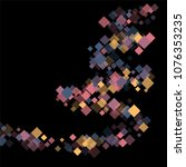 rhombus cosmic minimal... | Shutterstock .eps vector #1076353235