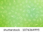 light green vector background... | Shutterstock .eps vector #1076364995