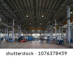 large warehouse interior inside ... | Shutterstock . vector #1076378459
