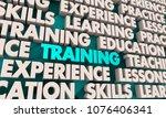 training education skills...   Shutterstock . vector #1076406341