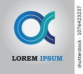 logo design  modern  web...   Shutterstock .eps vector #1076423237