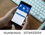 chiang mai. thailand. mar 28 ...   Shutterstock . vector #1076432054