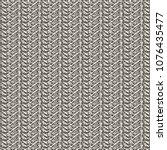 monochrome pattern alternating... | Shutterstock .eps vector #1076435477