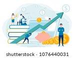 vector concept illustration  ... | Shutterstock .eps vector #1076440031