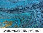 marble abstract acrylic... | Shutterstock . vector #1076440487