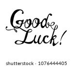 good luck. hand written vector...