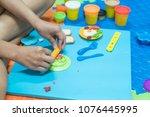 parent having fun playing...   Shutterstock . vector #1076445995