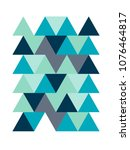 geometric pattern   background | Shutterstock .eps vector #1076464817