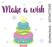 happy birthday banner. greeting ...   Shutterstock .eps vector #1076477039