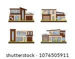 vector flat illustration modern ... | Shutterstock .eps vector #1076505911