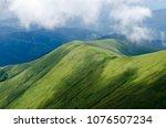 beautiful nature background in... | Shutterstock . vector #1076507234