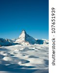 Matterhorn Mountain Peak In...
