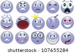 icon depicting the various... | Shutterstock . vector #107655284