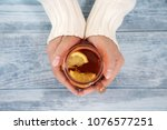 close up of female hands... | Shutterstock . vector #1076577251