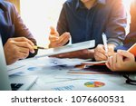 business finance  accounting ... | Shutterstock . vector #1076600531