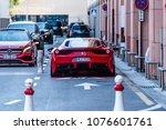 monaco  monte carlo 21. april... | Shutterstock . vector #1076601761