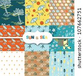 sun   sea   Shutterstock .eps vector #107662751