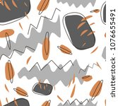 strokes squiggles pattern | Shutterstock .eps vector #1076655491
