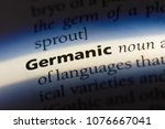 Small photo of germanic germanic concept.