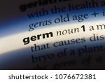 Small photo of germ germ concept.