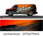 car graphic vector. abstract... | Shutterstock .eps vector #1076679641