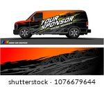 car graphic vector. abstract... | Shutterstock .eps vector #1076679644