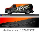 car graphic vector. abstract... | Shutterstock .eps vector #1076679911