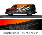 car graphic vector. abstract... | Shutterstock .eps vector #1076679944