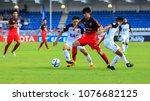 21 april 2018 toyota thai... | Shutterstock . vector #1076682125