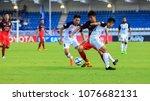 21 april 2018 toyota thai... | Shutterstock . vector #1076682131