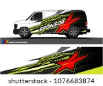 car graphic vector. abstract... | Shutterstock .eps vector #1076683874