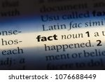 Small photo of fact fact concept.