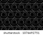 the geometric pattern with... | Shutterstock .eps vector #1076692751