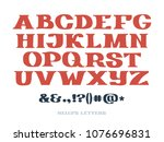 set of isolated hand drawn slab ... | Shutterstock .eps vector #1076696831