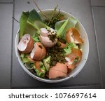 compost made from green waste... | Shutterstock . vector #1076697614