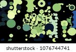 abstract geometric pattern... | Shutterstock .eps vector #1076744741
