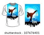vector. t shirt design | Shutterstock .eps vector #107676401