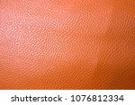 brown texture lather background | Shutterstock . vector #1076812334