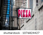 A Pizza Sign New York - Fine Art prints
