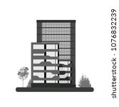 logo skyscraper buildings... | Shutterstock .eps vector #1076832239