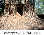 most south sanctuary prasat...   Shutterstock . vector #1076884721