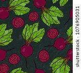 black chalk board. seamless... | Shutterstock .eps vector #1076905031