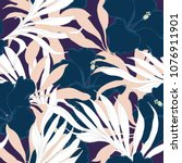 abstract elegance pattern with... | Shutterstock .eps vector #1076911901