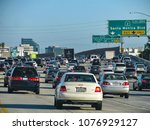 los angeles  california usa  ... | Shutterstock . vector #1076929127