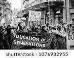 strasbourg  france    mar 22 ... | Shutterstock . vector #1076932955