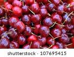 freshly picked heap of sweet ... | Shutterstock . vector #107695415